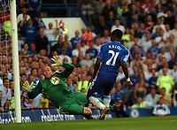 Photo: Tony Oudot.<br /> Chelsea v Blackburn Rovers. The FA Barclays Premiership. 15/09/2007.<br /> Salomon Kalou of Chelsea scores but the goal is disallowed