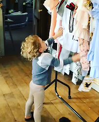 """Katie Price releases a photo on Instagram with the following caption: """"\ud83d\ude4c\ud83c\udffcBeen working on @princessandbunny.co.uk for a year now\u2728My Kidswear brand launching in April. If you want your Child aged 4-14 to model at my fashion show please email: audition@princessandbunny.co.uk \ud83d\udc78\ud83c\udffc\ud83d\udc30"""". Photo Credit: Instagram *** No USA Distribution *** For Editorial Use Only *** Not to be Published in Books or Photo Books ***  Please note: Fees charged by the agency are for the agency's services only, and do not, nor are they intended to, convey to the user any ownership of Copyright or License in the material. The agency does not claim any ownership including but not limited to Copyright or License in the attached material. By publishing this material you expressly agree to indemnify and to hold the agency and its directors, shareholders and employees harmless from any loss, claims, damages, demands, expenses (including legal fees), or any causes of action or allegation against the agency arising out of or connected in any way with publication of the material."""