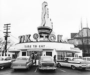 Y-561221B.  Tik Tok Restaurant sold. 1230 E. Burnside, Portland, Oregon. December 21, 1956