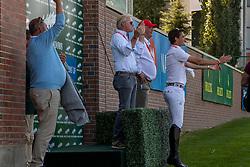 Team Belgium, Philippaerts Ludo, Lansink Jos, Weinberg Peter, Philippaerts Olivier, BEL<br /> Spruce Meadows Masters - Calgary 2019<br /> © Hippo Foto - Dirk Caremans<br />  08/09/2019