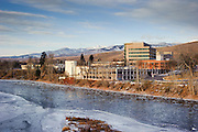 Less wind today made for a better walking experience, but the ice is still increasing in the Clark Fork river. Missoula Photographer, Montana Photographer, Pictures of Missoula, Montana Photos