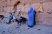 Maroc, Haut-Atlas, vallée du Draa, Agdz, souk du jeudi // Morocco, High Atlas, Draa valley, Agdz, Thursday souk