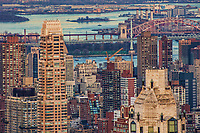Upper East Side Towers with Robert F. Kennedy & Hell Gate Bridges