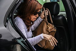 May 7, 2017 - Athens, attica, Greece - The former President of Argentina, Cristina Fernández de Kirchner visits the Refugee Camp of Eleonas in Athens on May 7, 2017  (Credit Image: © Wassilios Aswestopoulos/NurPhoto via ZUMA Press)