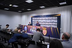 March 30, 2018 - Bordeaux, France - UNAI EMERY (ENTRAINEUR PSG) - JOURNALISTES (Credit Image: © Panoramic via ZUMA Press)