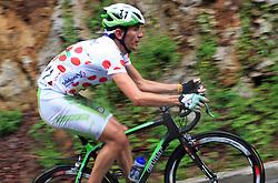 Mitja Mahoric of Slovenia (Perutnina Ptuj) during 3rd stage of the 15th Tour de Slovenie from Skofja Loka to Krvavec (129,5 km), on June 13,2008, Slovenia. (Photo by Vid Ponikvar / Sportal Images)/ Sportida)