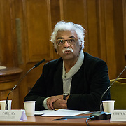 Speaker Tariq Ali - A rally is held at Convocation Hall, Westminster in support of Julian Assange. Belmarsh Tribunal will expose the atrocities committed by the US government over the past decade, from war crimes in Iraq to torture at Guantánamo Bay. The event takes its inspiration from the Russell-Sartre Tribunal of 1966, when representatives of 18 countries gathered to hold the United States accountable for its war crimes in Vietnam, in the absence of an international authority that dared to do so. Tariq Ali, who took part in the 1966 Tribunal.