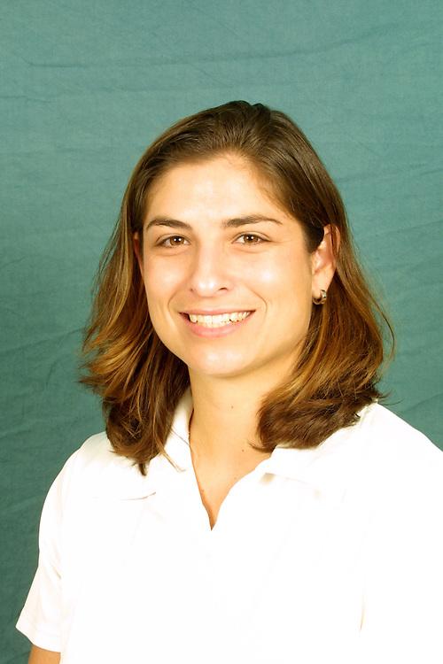 2001 Miami Hurricanes Volleyball Head Shots
