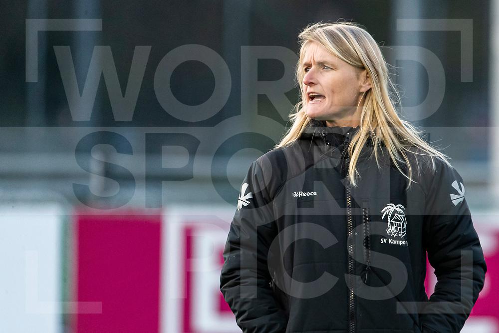 Laren, Hoofdklasse Hockey Dames, Seizoen 2020-2021, 15-04-2021, Laren - Kampong 2-1, Coach Marieke Dijkstra (Kampong)<br /><br /> COPYRIGHT WORLDSPORTPICS WILLEM VERNES