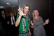 Carl einar hackner; sussan eglund, The opening night of La Clique at the Rounhouse i. 25 November 2009
