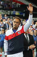 Coach Yannick Noah (French) during the 2018 Davis Cup, semi final tennis match between France and Spain on September 14, 2018 at Pierre Mauroy stadium in Lille, France - Photo Laurent Lairys / ProSportsImages / DPPI