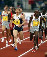 Friidrett, 12 juni 2004, Bergen Bislett Games, Golden League,  Bernard Lagat, Kenya, 800 meter og Ivan Heshko, Ukraina (23)