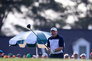 Ian Woosnam (WAL) on the 1st tee during the 1st round at the The Masters , Augusta National, Augusta, Georgia, USA. 11/04/2019.<br /> Picture Fran Caffrey / Golffile.ie<br /> <br /> All photo usage must carry mandatory copyright credit (© Golffile | Fran Caffrey)