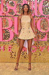 © Licensed to London News Pictures. 29/06/2016. Guests including  KATE MOSS, EMMA BUNTON, DAISY LOWE, CARA DELEVINGE, KYLIE MINOGUE, ALISHA DIXON, JERRY HALL, JOURDAN DUNN,  LILY COLE, SUKI WATERHOUSE and LARA STONE attend the ABSOLUTELY FABULOUS world film premiere.<br /> London, UK. Photo credit: Ray Tang/LNP