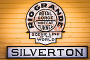 Durango & Silverton Narrow Gauge Railroad train depot, Silverton, Colorado