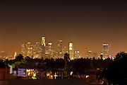 Los Angeles City Lights View