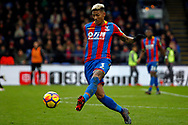 Patrick van Aanholt of Crystal Palace in action. Premier League match, Crystal Palace v Newcastle Uutd at Selhurst Park in London on Sunday 4th February 2018. pic by Steffan Bowen, Andrew Orchard sports photography.