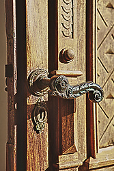 O município de Jaguarão é conhecido pelo seu casario de Arquitetura Eclética do centro da cidade que datam de 1876 e de 1920 e por suas belas portas em estilo artesanal português. FOTO: Jefferson Bernardes/Preview.com