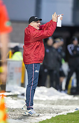 Livingston manager John McGlynn. <br /> Livingston 0 v 1 Falkirk, Scottish Championship played13/12/2014 at The Energy Assets Arena.