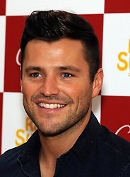 © Licensed to London News Pictures. 26/10/2013<br /> Mark Wright at Clintons in the Bluewater Shopping Complex, Kent (today 26.10.2013) to signing copies of his 2014 Calendar.<br /> Photo credit :Grant Falvey/LNP