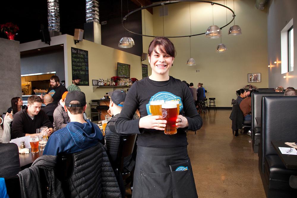 Ecliptic Brewing, Portland Oregon, server, Melanie Long