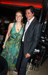 LADY SYBILLA RUFUS-ISAACS and EDWARD TAYLOR at a night of Cuban Cocktails and Cabaret hosted by Edward Taylor and Charles Beamish at Floridita, 100 Wardour Street, London W1 on 14th April 2005.<br /><br />NON EXCLUSIVE - WORLD RIGHTS