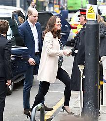 Duke & Duchess Of Cambridge arrive at St Lukes Community Centre in London<br /><br />22 March 2018.<br /><br />Please byline: Vantagenews.com