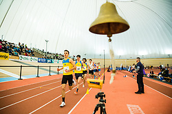 Matija Rizmal during Slovenian Indoor Championship, Olympic centre Novo Mesto, 13 February 2021, Novo Mesto, Slovenia. Photo by Grega Valancic / Sportida