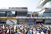 April 10-12, 2015: Chinese Grand Prix - Chinese Grand Prix podium atmosphere