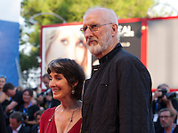 Anna Stuart and James Cromwell at the premiere of the film The Young Pope at the 73rd Venice Film Festival, Sala Grande on Saturday September 3rd 2016, Venice Lido, Italy.