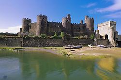 July 21, 2019 - Conway Castle, Wales (Credit Image: © Bilderbuch/Design Pics via ZUMA Wire)