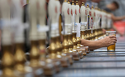 File photo dated 09/08/16 of a pint of beer, as the number of new beer brands reached a record high of more than 1,600 in the last year following a rise in the popularity of artisan products, a study shows.