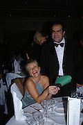 Agnieszka Hancock,STELIOS HAJI-LOANNOU and MISS DANA MALMSTROM . Conde Nast Traveller Tsunami Appeal dinner. Four Seasons  Hotel. Hamilton Place, London W1. 2 March 2005. ONE TIME USE ONLY - DO NOT ARCHIVE  © Copyright Photograph by Dafydd Jones 66 Stockwell Park Rd. London SW9 0DA Tel 020 7733 0108 www.dafjones.com