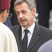 LUX/Luxemburg/20190504 - Funeral of HRH Grand Duke Jean/Uitvaart Groothertog Jean, Oud president van Frnakrijk Nicolas Sarkozy
