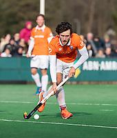 BLOEMENDAAL  - Arthur van Doren (Bldaal)   . Bloemendaal-Kampong (2-1).  hoofdklasse hockey mannen.   COPYRIGHT KOEN SUYK