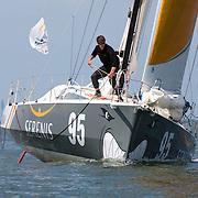 Class 40 N°95 / Skipper:Jean GALFIONE / co-skipper: Roland JOURDAIN