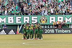 Portland Timbers vs Philadelphia Union - 4 Aug 2018