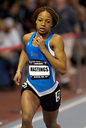 Natasha Hastings was sixth in the women's 400 meters in 53.72 in the USA Track & Field Indoor Championships at Reggie Lewis Track & Athletic Center at Roxbury Community College on Saturday, Feb. 28, 2004 in Roxbury Crossing, Mass.