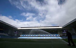 A general view of Ibrox before the Ladbrokes Scottish Premiership match Rangers and Kilmarnock.