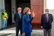 110320 Queen Sofia visit Food Bank of Lanzarote