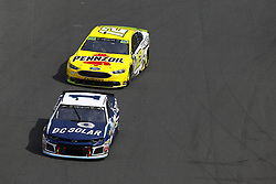 September 30, 2018 - Concord, North Carolina, United States of America - Jamie McMurray (1) races during the Bank of America ROVAL 400 at Charlotte Motor Speedway in Concord, North Carolina. (Credit Image: © Chris Owens Asp Inc/ASP via ZUMA Wire)