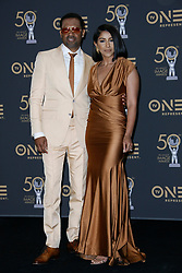 March 30, 2019 - Los Angeles, CA, USA - Hollywood, CA - MAR 30: Mike Epps and Kyra Robinson at the 50th NAACP Image Awards Press Room at the Dolby Theatre on March 30 2019 in Hollywood CA. Credit: CraSH/imageSPACE/MediaPunch (Credit Image: © Crash via ZUMA Wire)