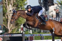 Zettermann Alexander (SWE) - Cafino<br /> Final First Competition<br /> Furusiyya FEI Nations Cup™ Final - Barcelona 2014<br /> © Dirk Caremans<br /> 09/10/14