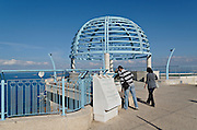 Israel, Haifa, the Stella Maris observation point