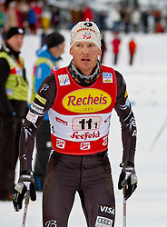 16.12.2011, Casino Arena, Seefeld, AUT, FIS Nordische Kombination, Team Sprint 2* 7.5 km, im Bild Todd Lodwick (USA) // Todd Lodwick of United States during Team Sprint 2* 7.5 km the team competition at FIS Nordic Combined World Cup in Sefeld, Austria on 20111211. EXPA Pictures © 2011, PhotoCredit: EXPA/ P.Rinderer