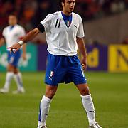 NLD/Amsterdam/20051112 - Voetbal, vriendschappelijke wedstrijd Nederland - Italie, Alberto Gilardino (11)
