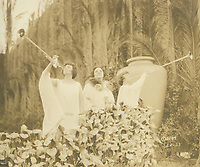 1925 Trumpeters during an Easter Sunrise Service at the Hollywood Bowl