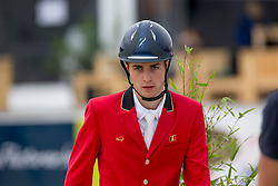 Van Massenhove Jordy, (BEL)<br /> Class 16 Nations Cup YR<br /> International Competition CSIO Young Riders Opglabbeek 2016<br /> © Dirk Caremans