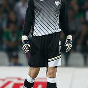 Bursaspor's goalkeeper Scott CARSON during their UEFA Europa League Third qualifying round, First leg soccer match Bursaspor between Gomel at the Ataturk stadium in Bursa Turkey on Thursday 28 July 2011. Photo by TURKPIX