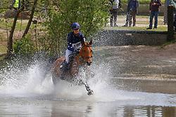 Wouters Annesjien, BEL, Cerida<br /> Nationale LRV-Eventingkampioenschap Ponies Minderhout 2017<br /> © Hippo Foto - Kris Van Steen<br /> 30/04/17